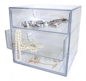 Akryl smykkeopbevaring
