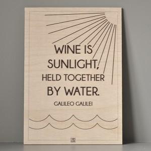 traeskilt_sunlight_water_wine