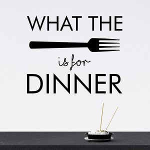 What the fork is for dinner
