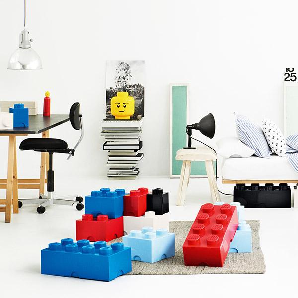 Lego kasser fra ROOM copenhagen