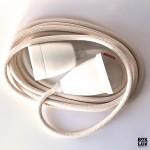 NUD Collection tekstil ledning - Perlemor