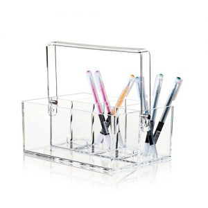 Toolbox i klar akryl