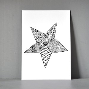 A5-postkort-_zendoodle_star