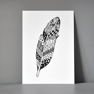 A5-postkort_zendoodle_feather