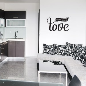 Wallsticker All You Need is Love V2.0