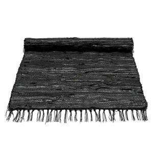 Lækkert tæppe lavet af cykelslanger. Fra kr 299,-