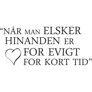 Når man elsker hinanden... 449,- fra DiMaria.dk